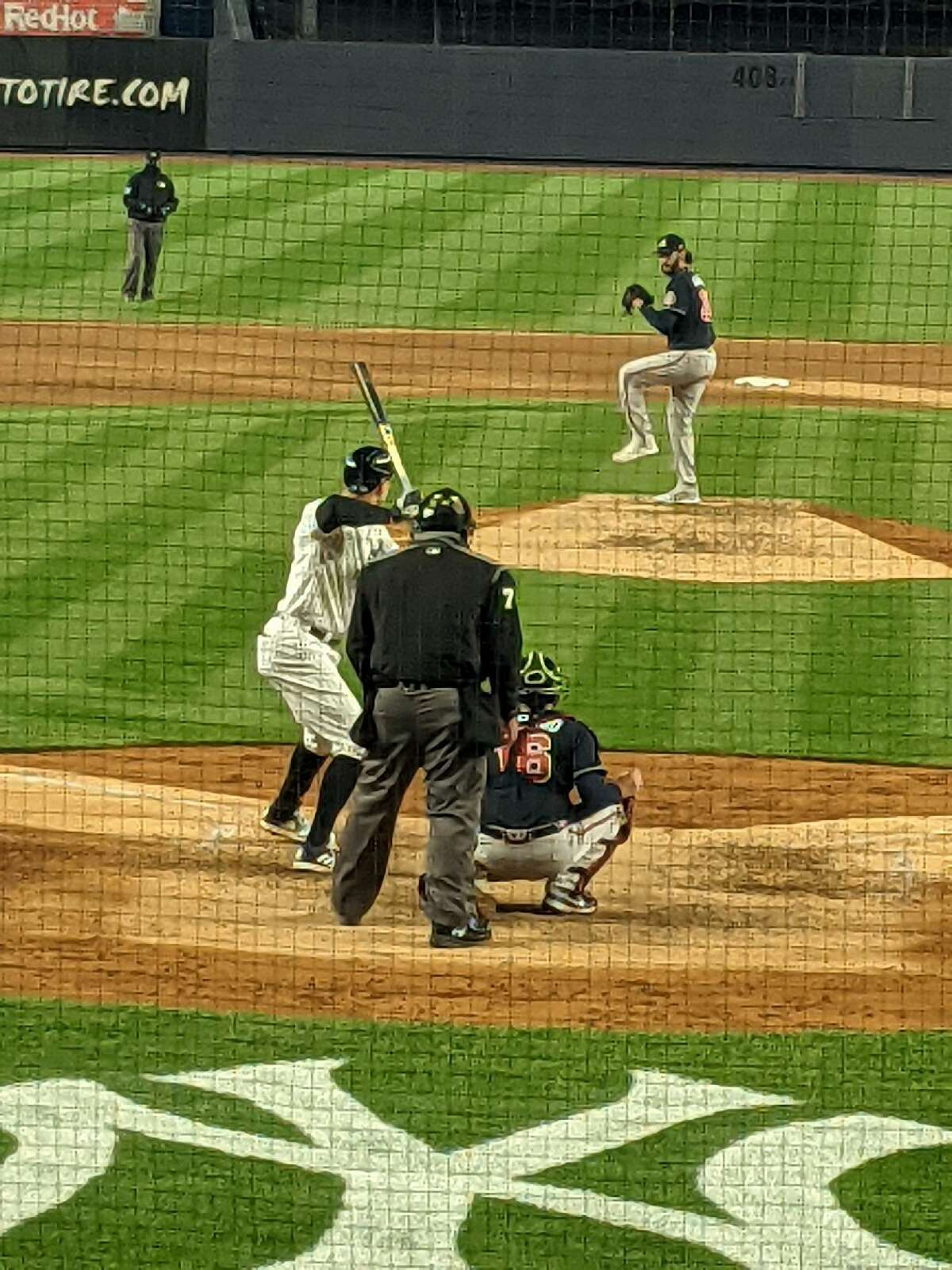 Shenendehowa baseball coach Greg Christodulu, who coached Ian Anderson in high school, had a great view of his former pitcher beating the Yankees on April 21, 2021. (Greg Christodulu)