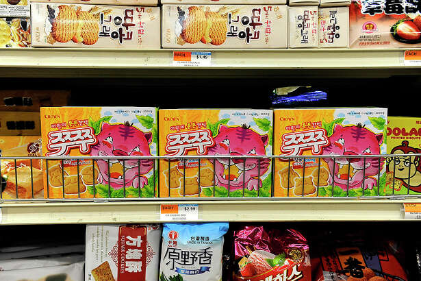 012310_cscover_CFW- Assorted cookies at H Mart in Aurora, CO.(Craig F. Walker/The Denver Post.) (Photo By Craig F. Walker/The Denver Post via Getty Images)