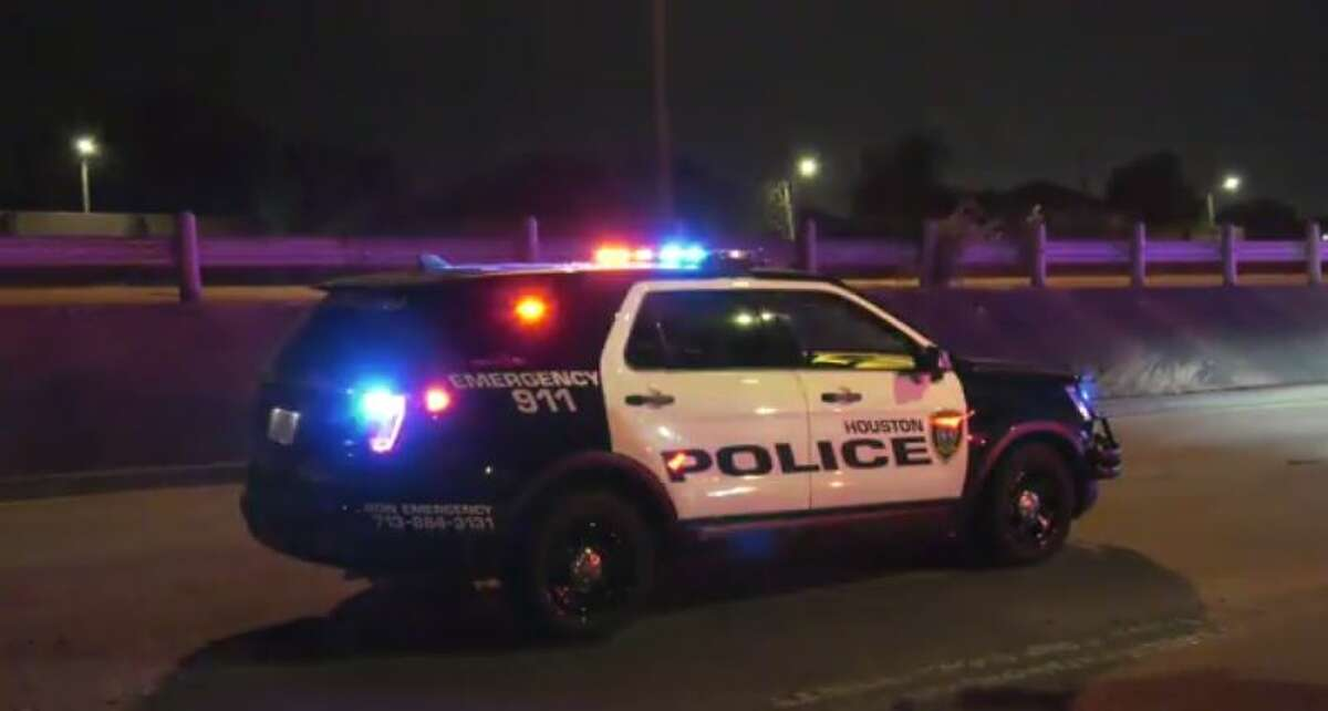 Homicide detectives are investigating after a man was found dead from a gunshot or stab wound early Thursday on the South Loop West feeder road in Houston, police said.