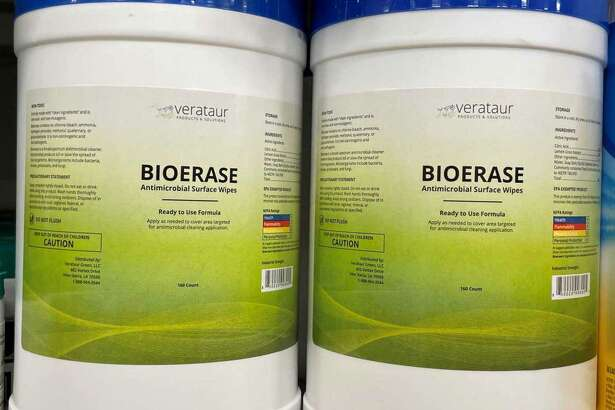 The Environmental Protection Agency instructed H-E-B to remove BioErase antimicrobial surface wipes from store shelves within 30 days, the grocer says in an amended lawsuit this month. It's the latest twist in a dispute with the wipes' Beaumont distributor.