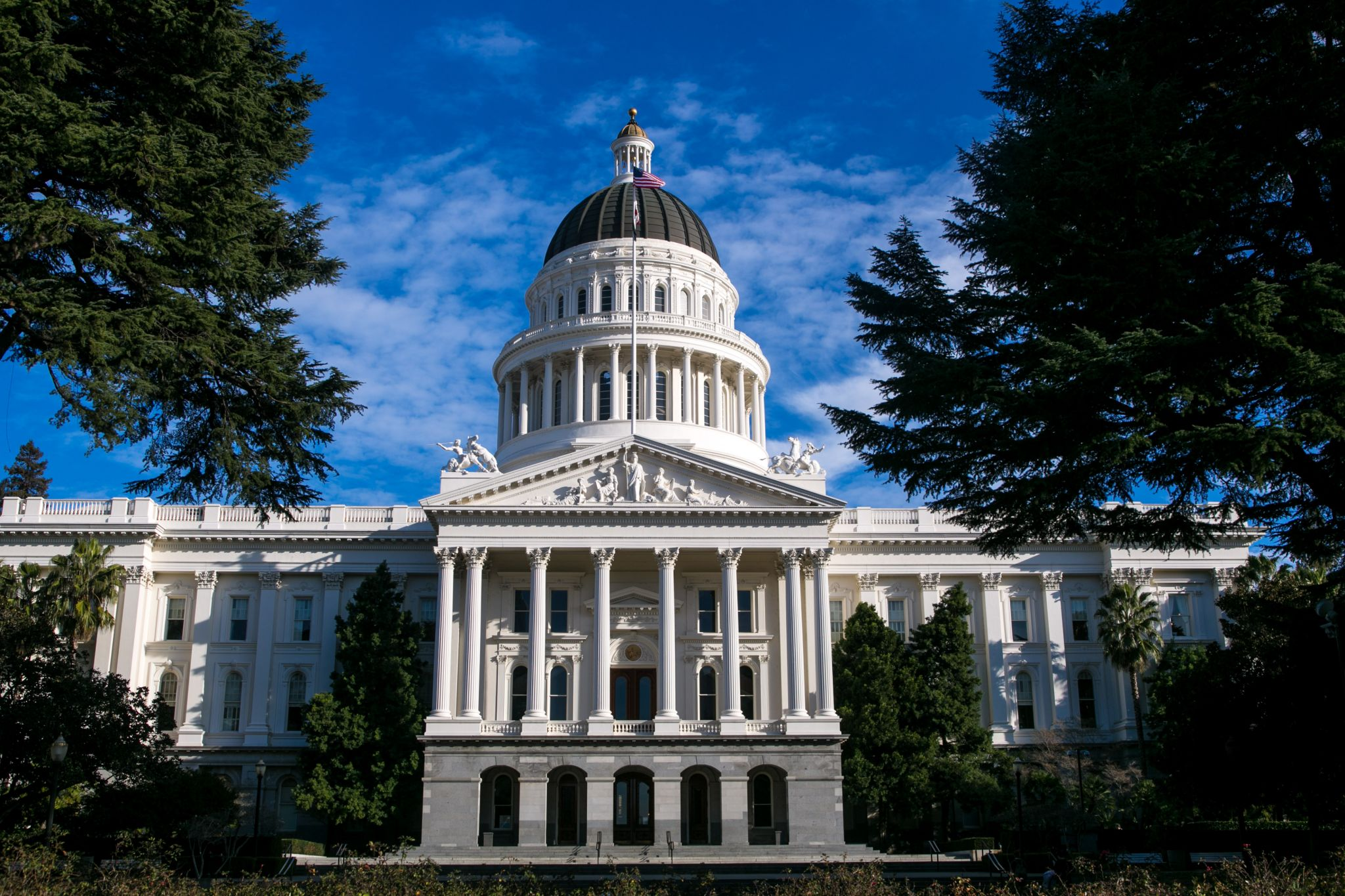 California case rate drops to lowest in continental US