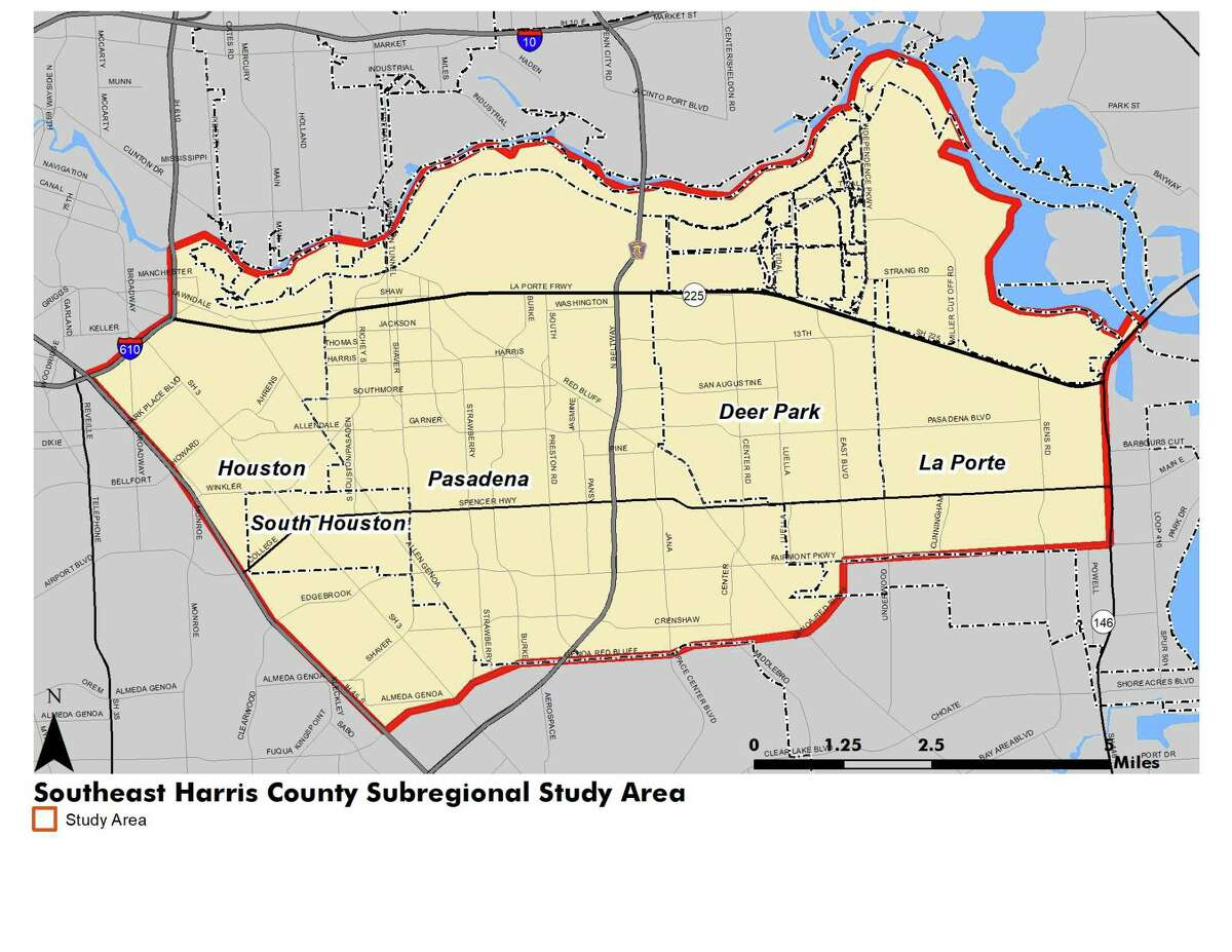 The Houston-Galveston Area Council is six months into an 18-month study aimed at making recommendations for improved and safer mobility in the area including Pasadena, Deer Park, South Houston and La Porte.