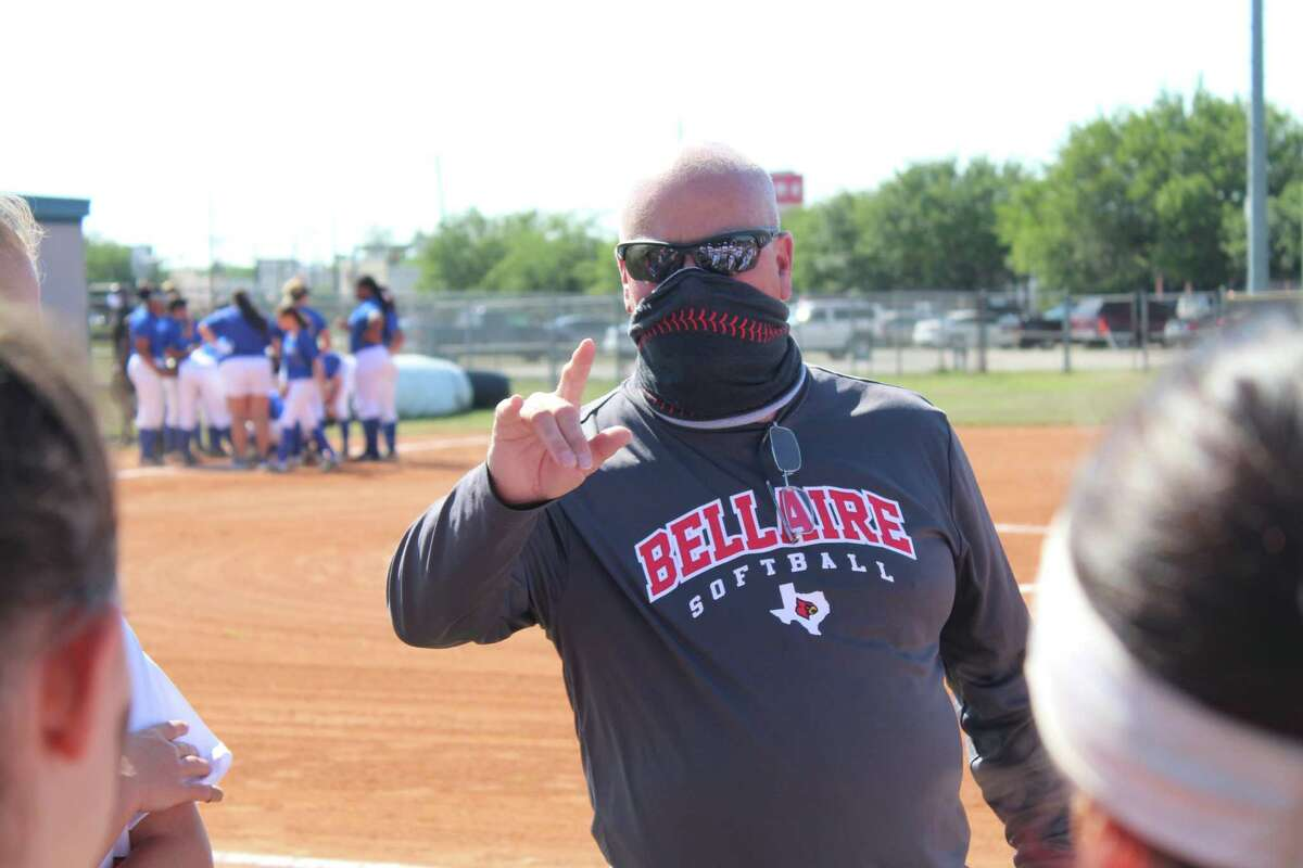 Bellaire coach Brien Tuffly won his 600th game of his coaching career at Bellaire High School on April 17.