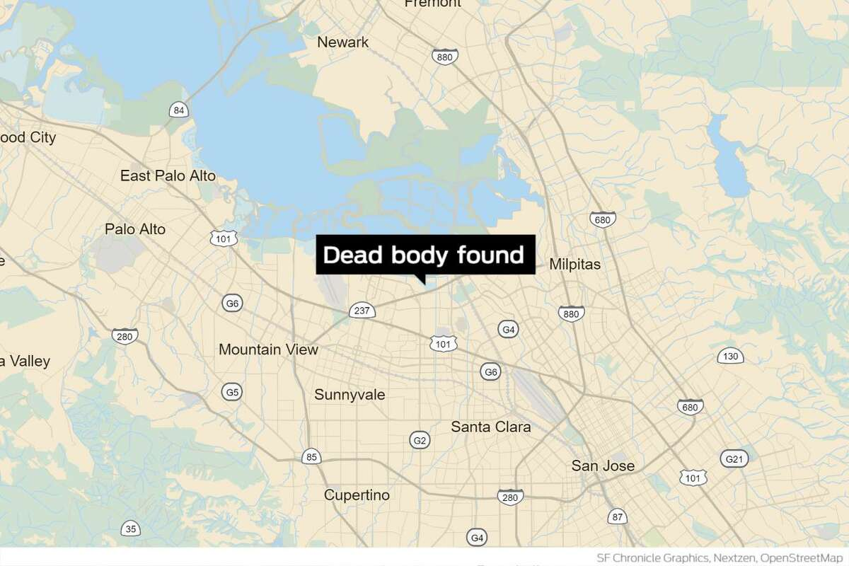 A decomposing body was discovered partially submerged in a soft mud embankment near a creek in Sunnyvale's Baylands Park, police said Thursday.