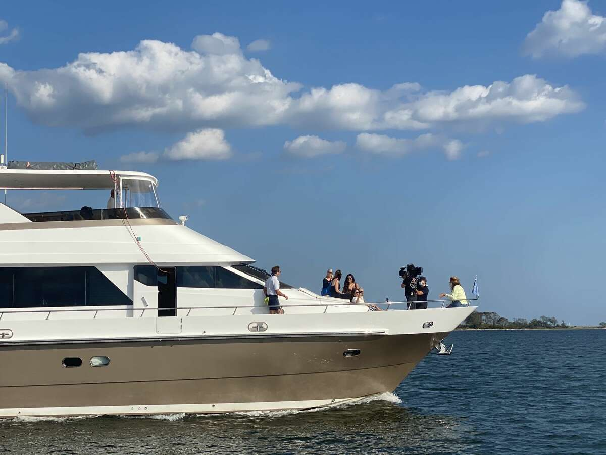 """""""The Real Housewives of New Jersey"""" were spotted filming in Norwalk Harbor on Sept. 23, 2020. Fans of the """"Real Housewives of New Jersey"""" may have noticed some familiar sites in the episode that aired on April 21 called """"Sinking Ships."""" The cast took a trip out to Norwalk on Sept. 23 for a joy ride on the yacht belonging to Emily Liebert, the ghost writer for """"housewives"""" Teresa Giudice and Margaret Josephs. Read more."""