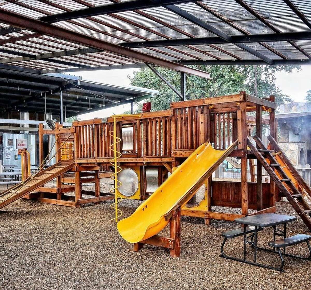 Add The Cove to the list of spots where parents can hangout while their kids play.
