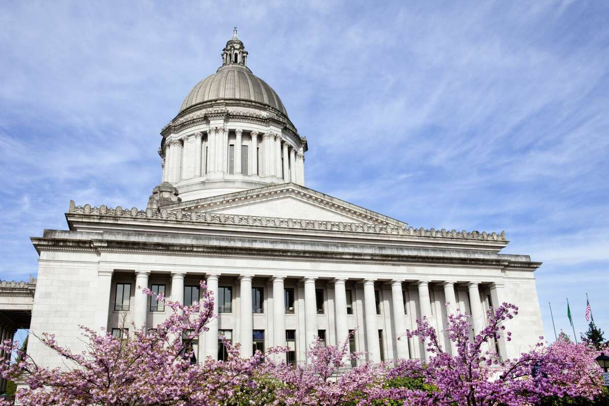 Washington State Capitol building in Olympia, Washington.