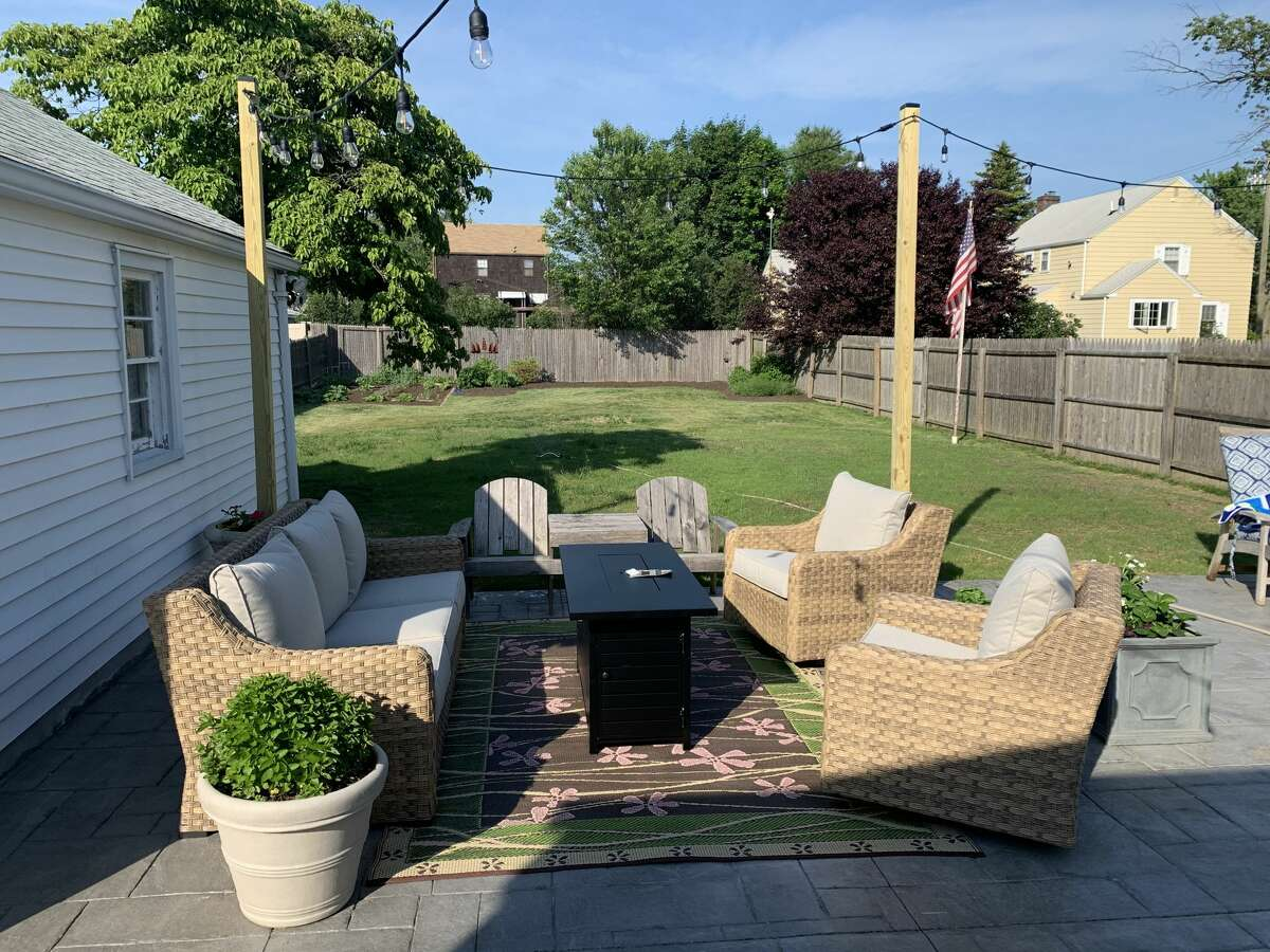 Joe and Cyndi Adams' pandemic project was giving their Stratford backyard a makeover in May 2020.