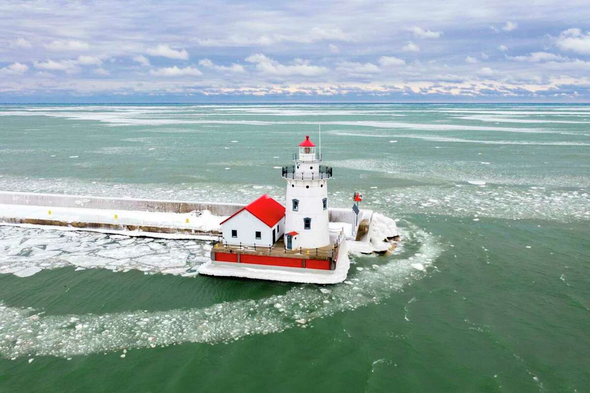 The Harbor Beach Lighthouse will open for tours beginning in June. (Tribune File Photo)