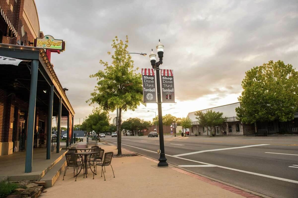 Downtown Tomball, where multiple businesses will be hosting deals from April 30 through May 9 for the city's 10 Days of Tomball event.