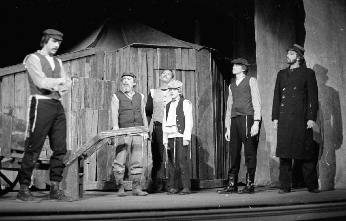 """The beloved production of """"Fiddler on the Roof"""" was performed at the Ramsdell Theatre by the Civic Players in late April 1981. (Manistee County Historical Museum photo)"""
