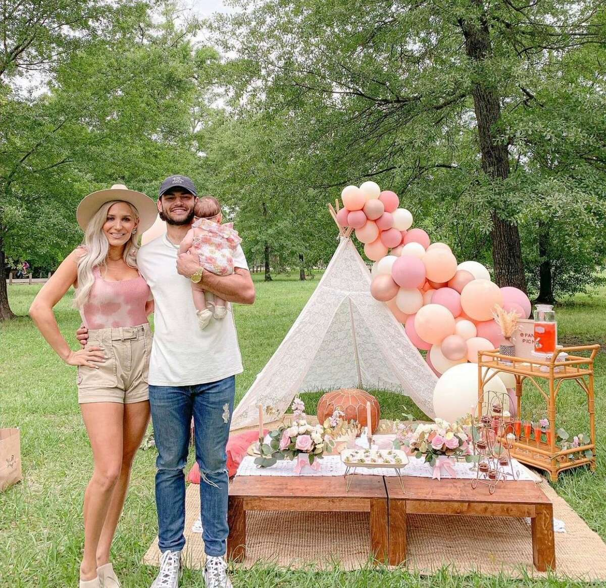 Kara and Lance McCullers are clients of Fancy Picnics, the business that Brenda Vilchis launched on Instagram at age 22 while a sophomore studying hospitality management at the University of Houston.
