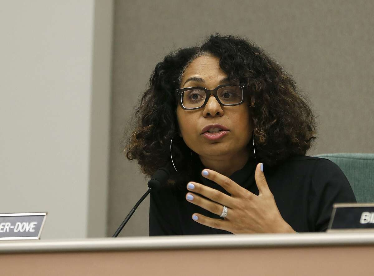 Then-Assembly Member Sydney Kamlager, D-Los Angeles, during a hearing in Sacramento in 2019. Kamlager, now a state senator, is carrying a bill to create a pilot program to have non-police officers respond to many nonviolent 911 calls.