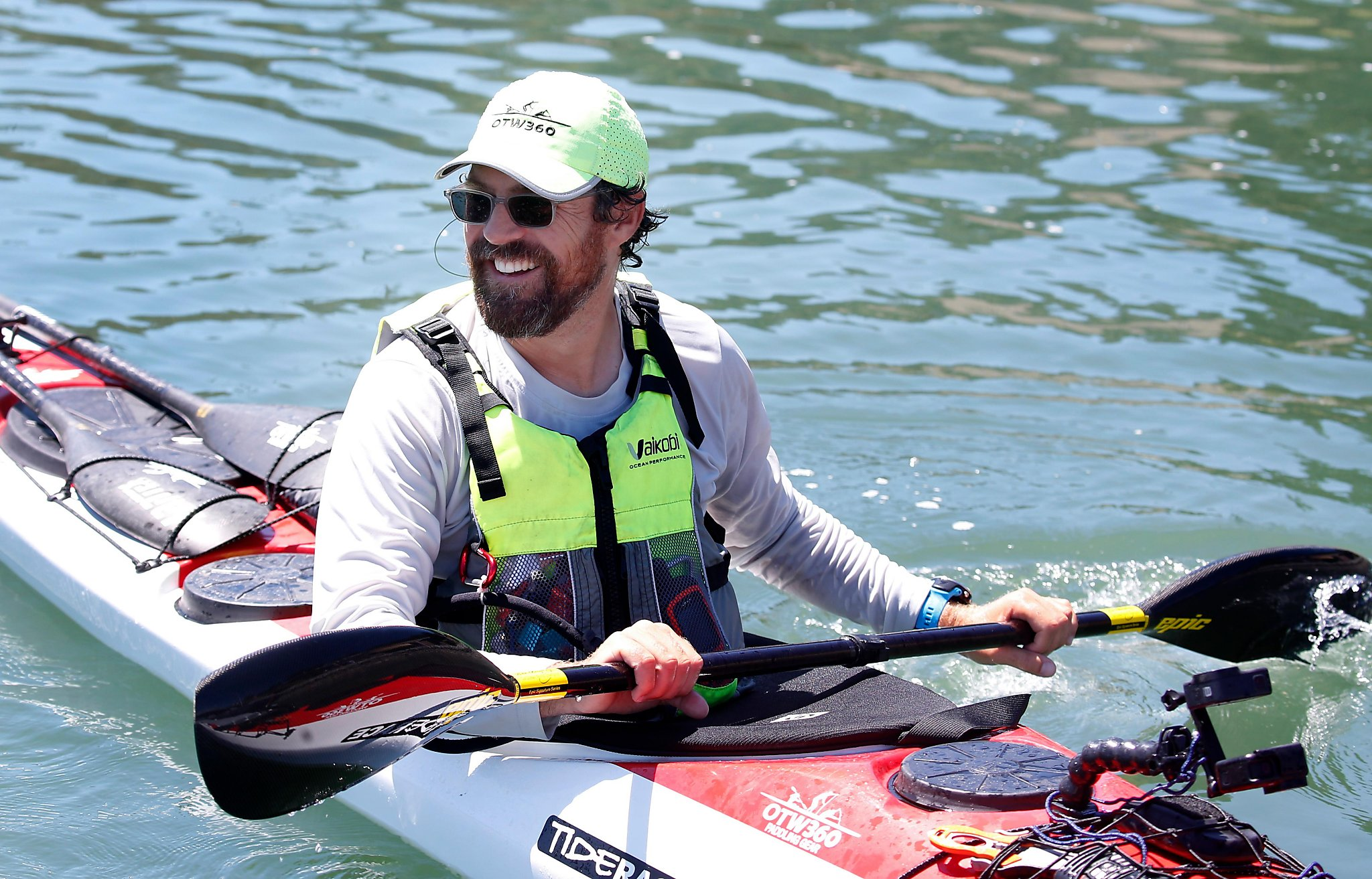 Marin kayaker to embark on epic solo paddle from S.F. to Hawaii