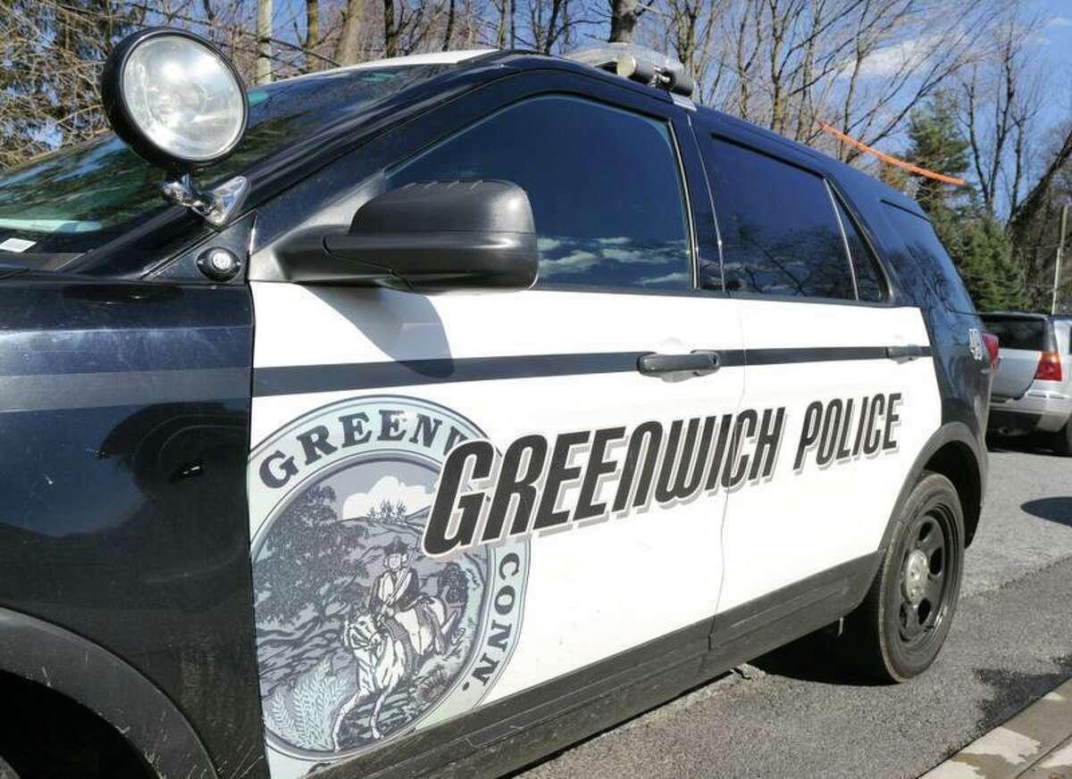 Greenwich police car