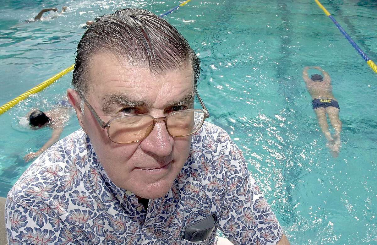 Nort Thornton coached Cal swimmers for 33 seasons, winning consecutive NCAA team titles in 1979 and 1980. His swimmers earned 29 Olympic medals.