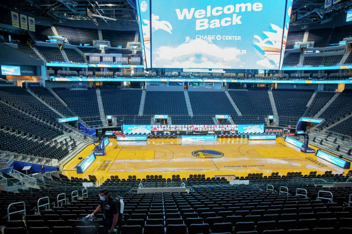 Chase Center will have fans - albeit a limited number - for the first time this season when the Warriors host Denver at 7 p.m. Friday (NBCSBA, ESPN/95.7).