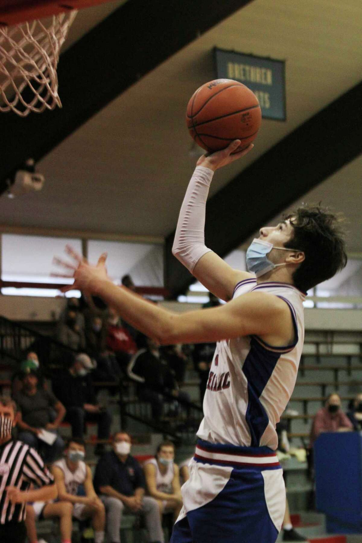Three Manistee County boys basketball programs landed on the Team Academic All-State list this week: Manistee Catholic Central, Onekama and Manistee. (News Advocate file photo)