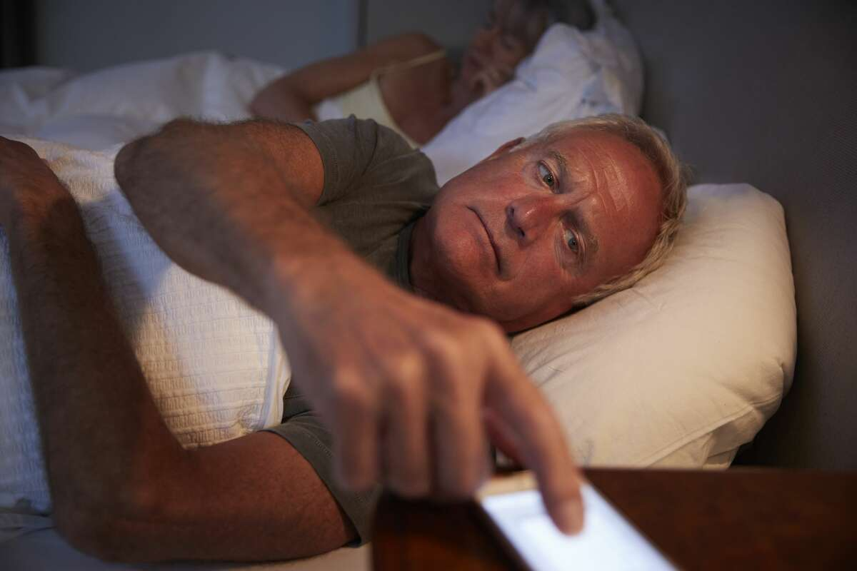 A man can't get a good night's sleep.