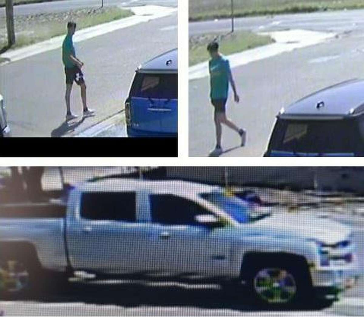 Laredo police said they need to identify this man on connection with a special investigations case. He was allegedly seen using this pickup.