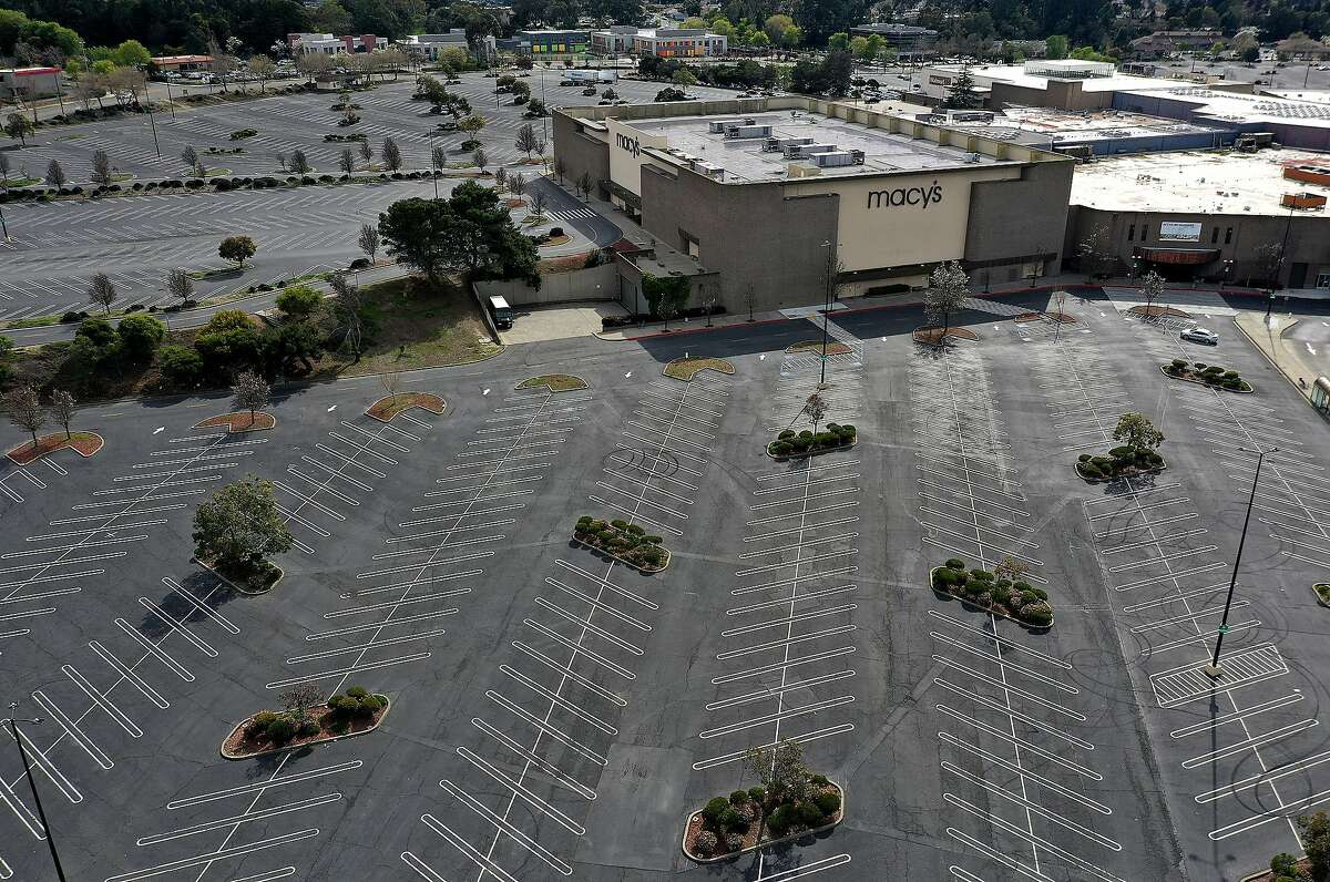 Richmond's Hilltop Mall, shown in March 2020, has been sold and will be redeveloped as a multiuse site for housing, retail and a logistics center.