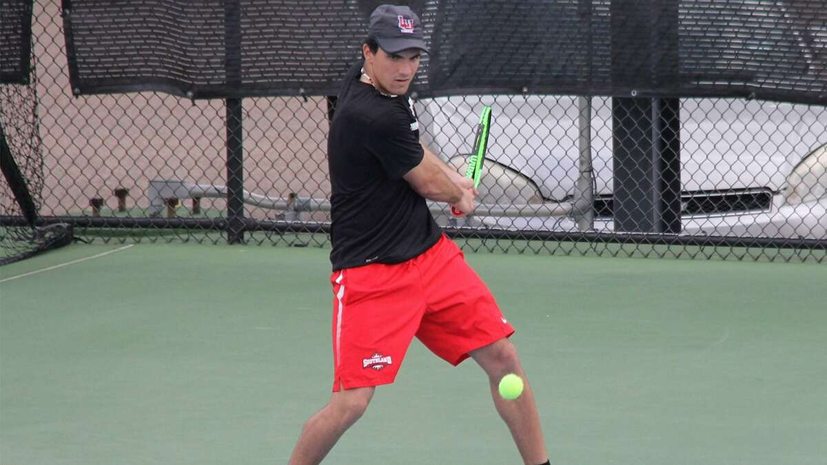 Lamar's No. 1 player, Axel Vila Antuna was named Thursday as the Southland Conference Player of the Year.