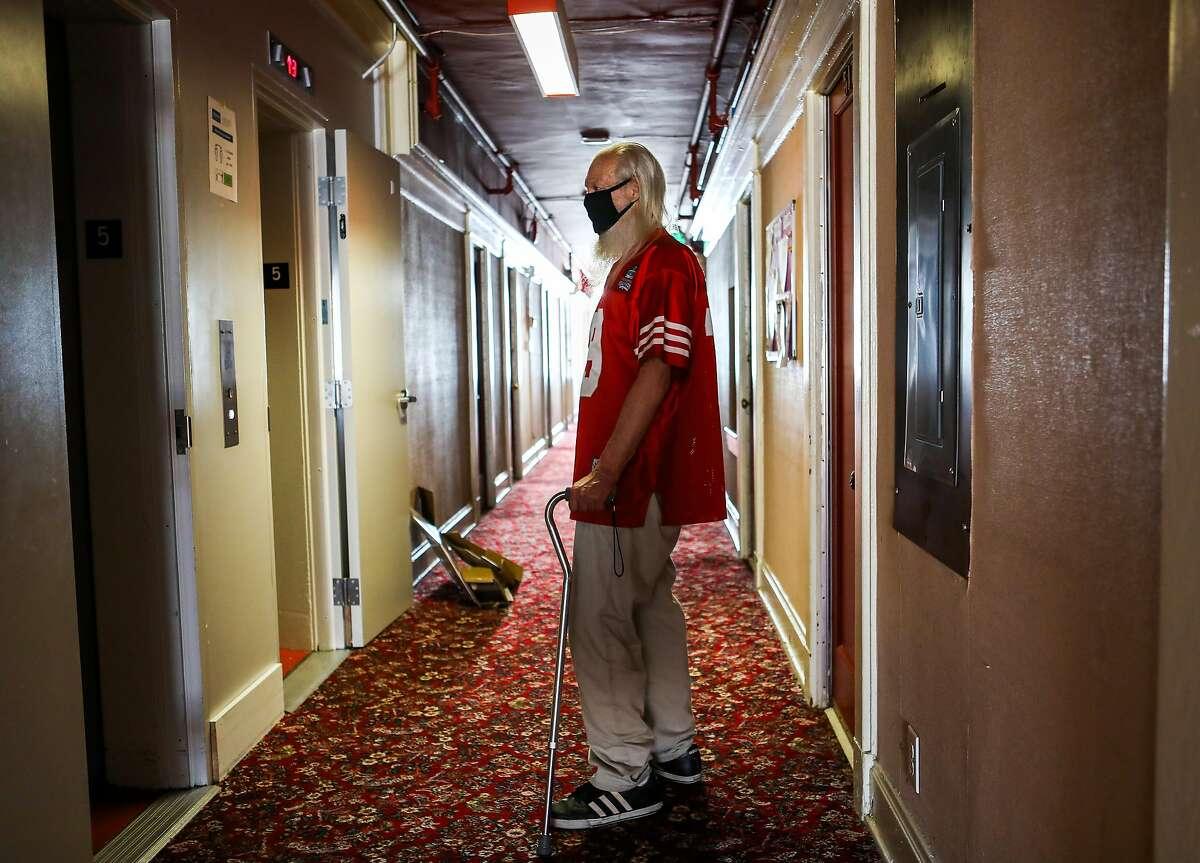 John Susoeff now has a six-block walk to pick up necessities.
