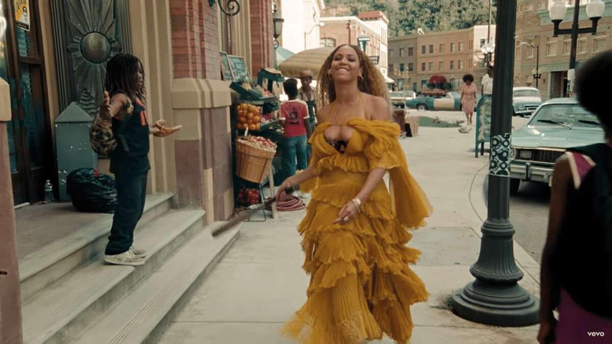 "Screen grab from ""Hold Up"" on Beyoncé's ""Lemonade"" album."