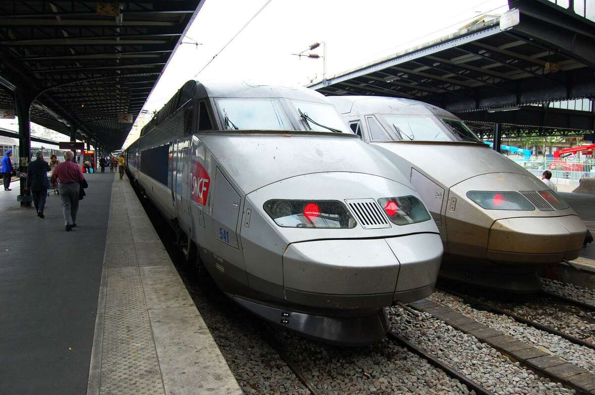 Europe's high-speed rail, such as this French bullet train, is so successful that one airline is considering getting into the business.