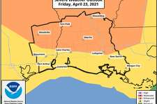Forecast from National Weather Service Lake Charles as of 8:30 a.m. Friday