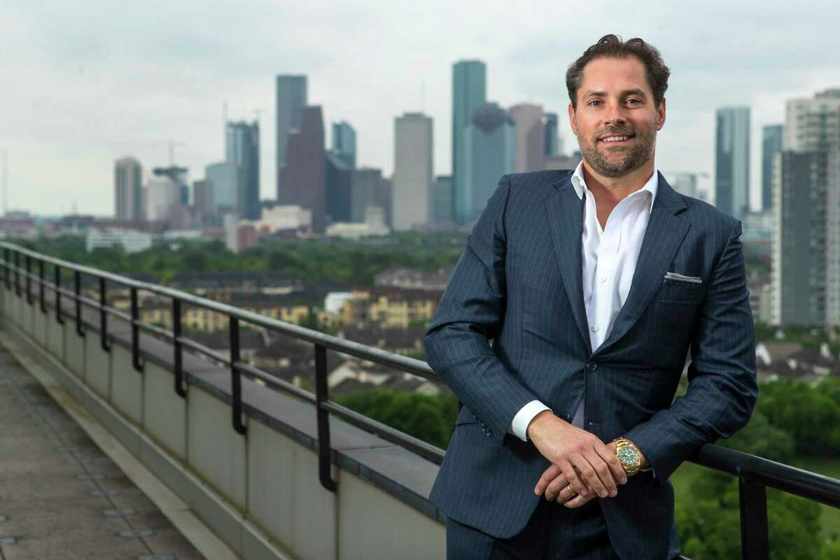 Jay Fields, CEO, The Fields Companies, poses for a portrait at the company offices Thursday, April 15, 2021 in Houston.