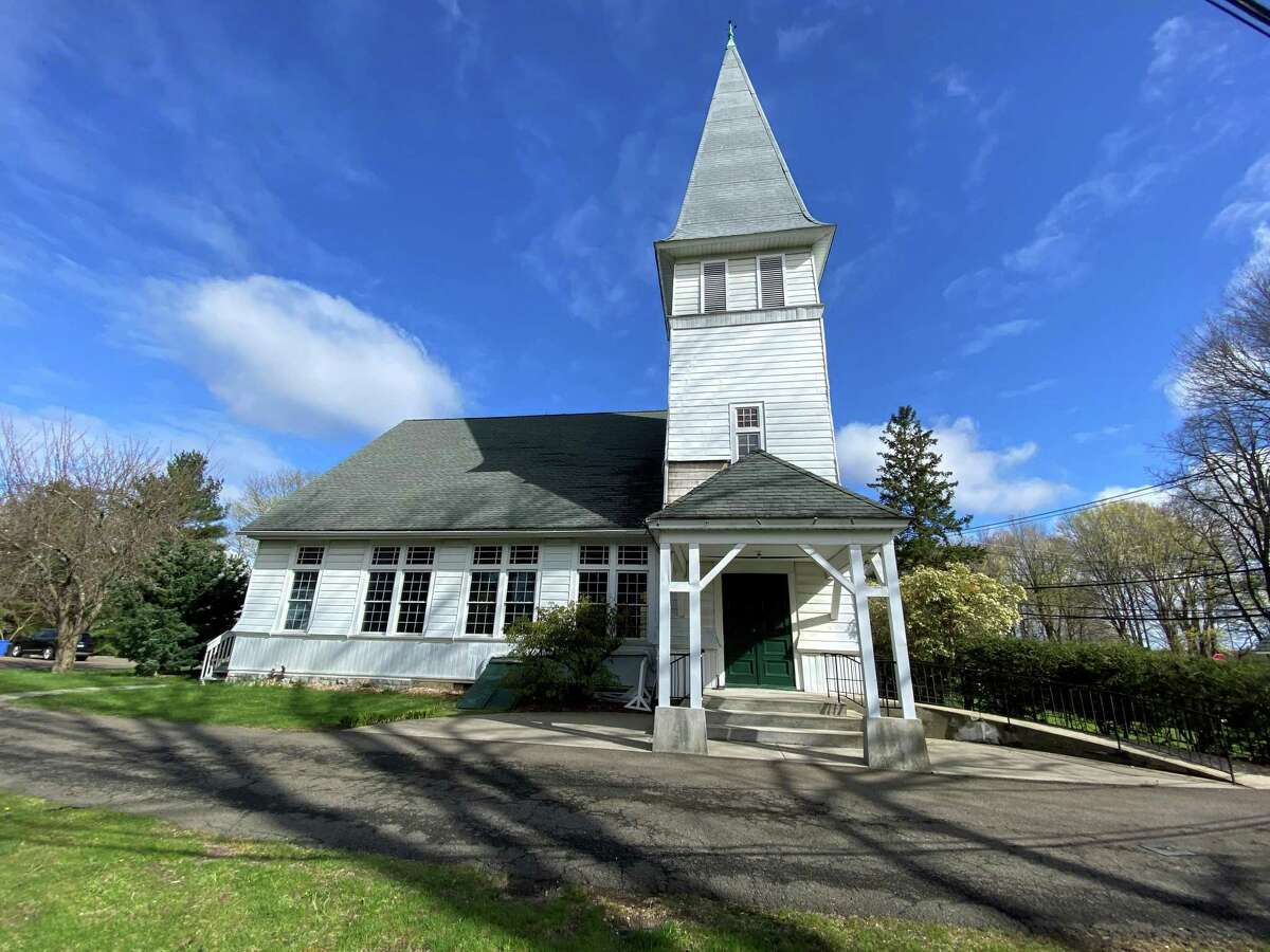 The North Greenwich Congregational Church will be the new temporary home of the food pantry for Neighbor to Neighbor.