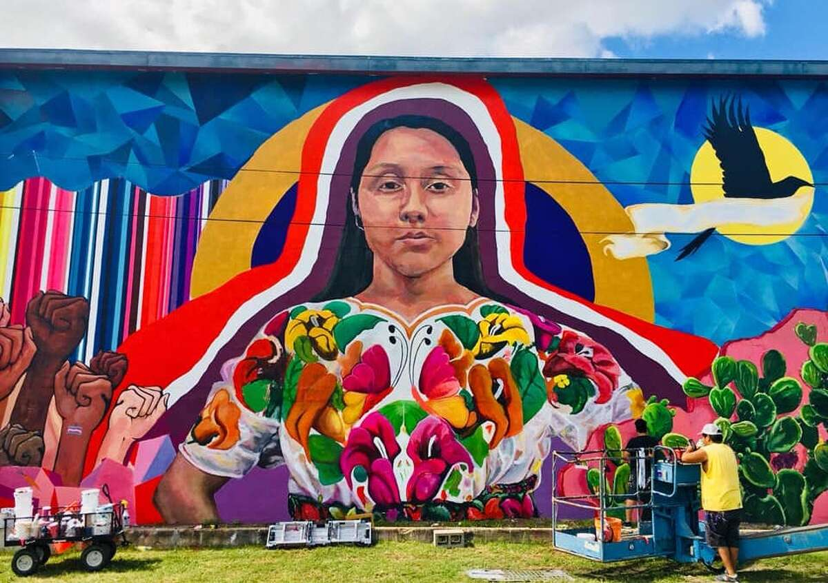 With permission from building owners, a series of walls on the city's West Side will be used for murals. San Anto Cultural Arts, the organization behind the initiative, said it is part of a larger outdoor gallery to come.