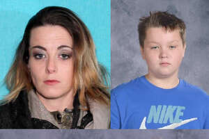 Police are searching for Kimberly Berrentine, who they say fled with her four children on April 22. A court order to remove the children from her care was issued that day. One child was found on April 23 in Midland; three are still missing: Trevor Alan-Peter Edens, Tallyn Leigh Smith and Talissa Lynn Barrentine.