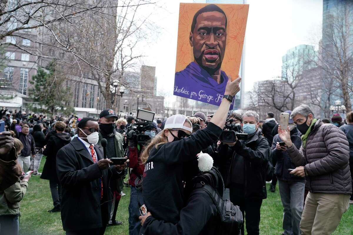People cheer after former Minneapolis police Officer Derek Chauvin was found guilty for the murder of George Floyd. And yet the nation had tensed, not sure a jury would see the truth.