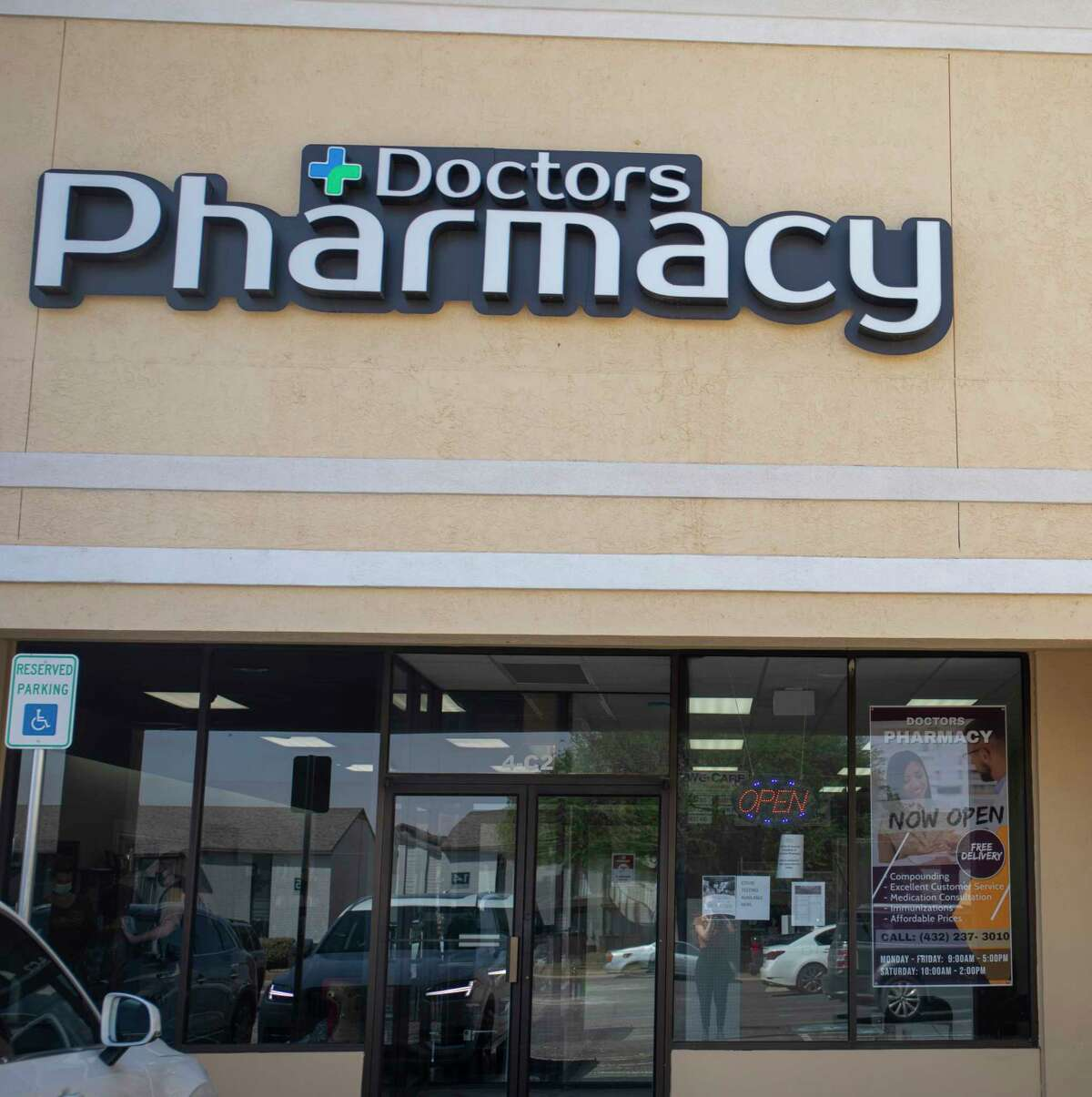 Doctor's Pharmacy as seen Tuesday, April 20, 2021 at 2215 Midland Drive. Jacy Lewis/Reporter-Telegram