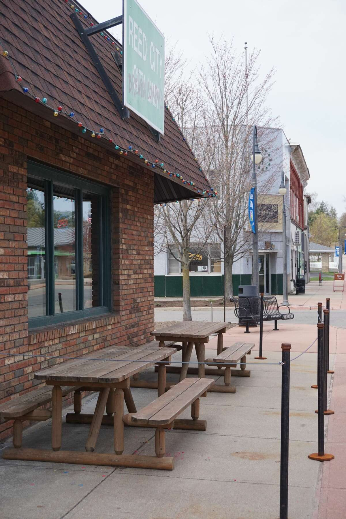 Reed City Brewing Company plans to increase its outdoor seating area in order to accommodate its growing business. The owners presented a plan to the Reed City city council with a request to increase the front outdoor seating along West Upton Street to 9 feet by 30 feet, and to use four of the parking spaces along Higbee Street as seating area.