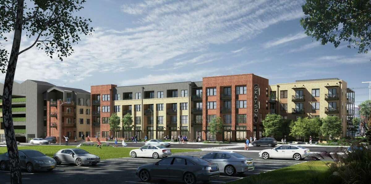 Plans call for 281 apartments with parking and about 2,000 square feet of retail.