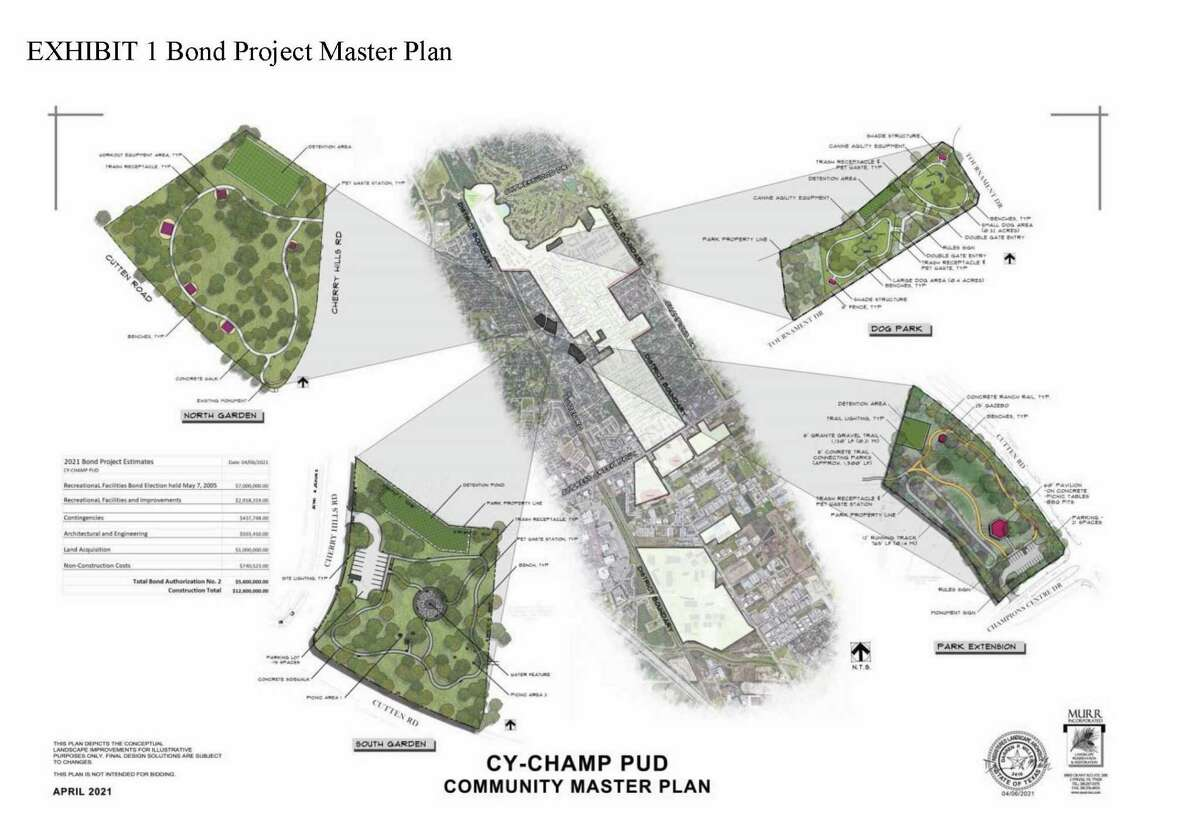 Exhibit 1 Bond Project Master Plan for the Cy-Champ Public Utility District Community Master Plan proposed for passage in the May 1 Uniform Election.