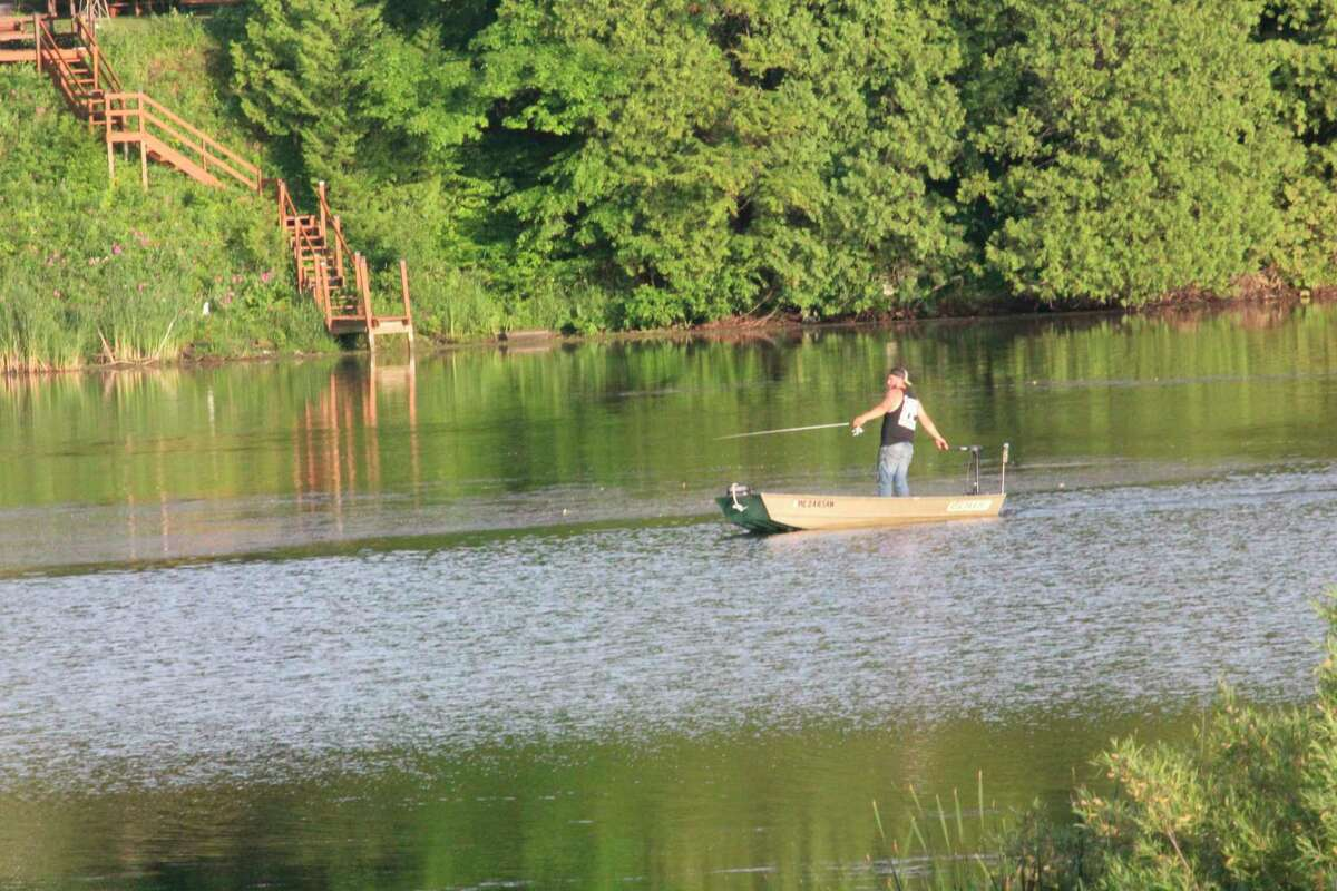 Fishermen hope it's warm enough to be in their boats this weekend. (Pioneer file photo)