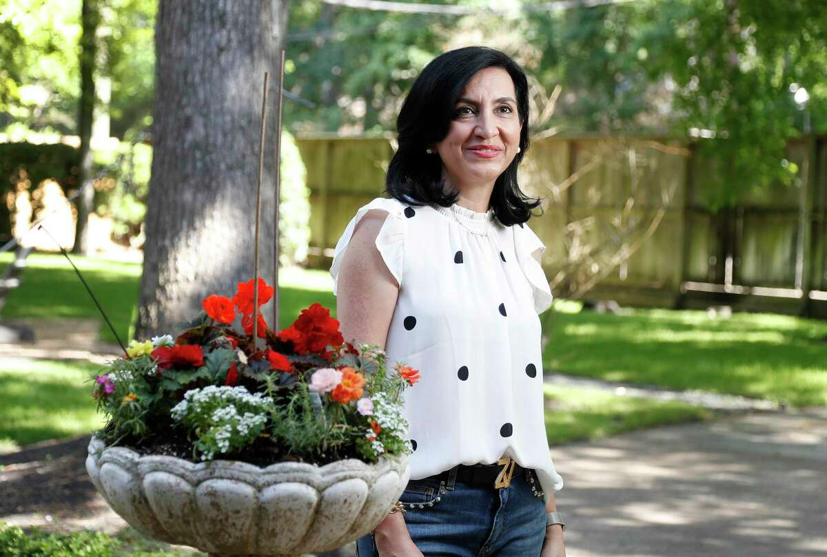 Nadia Tajalli is working to raise awareness about ongoing discrimination against members of her faith in Iran.