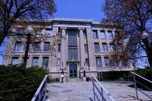 Bridgeport City Hall 45 Lyon Terrace in Bridgeport, Conn.