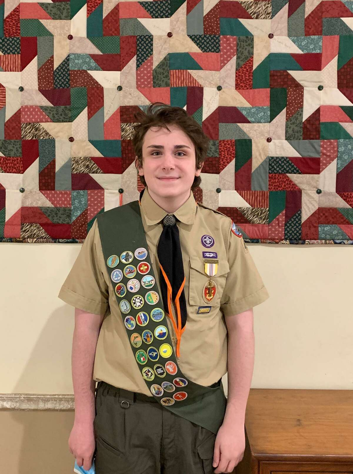 Anthony Raduazzo was recently named an Eagle Scout of Boy Scouts of America Troop 431 in Ridgefield.
