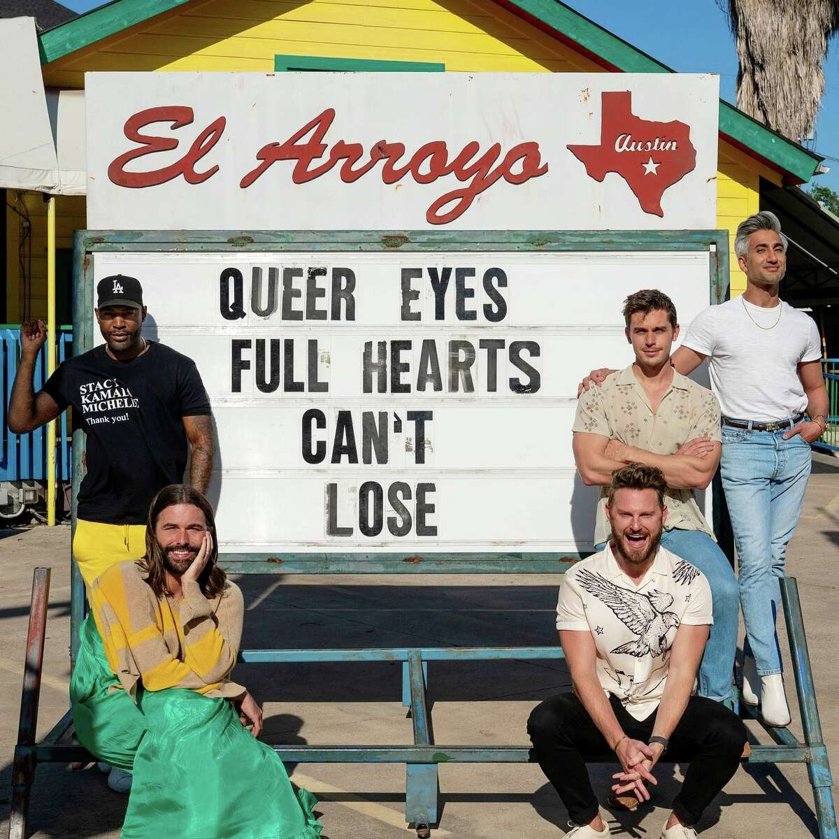 Austin restuaunt El Arroyo is selling jigsaw puzzles of its iconic Texas marquee that usually has a funny and clever saying on it. It's so popular that even the cast from
