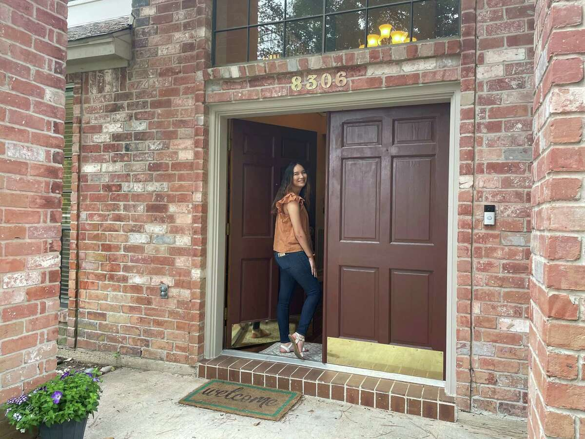 This home buyer represented by Jordan Marie Schilleci, a long-time licensed REALTOR and owner of Jo & Co. Realty Group, is seeking a new home in The Woodlands and recently toured several listings on Thursday, April 22.