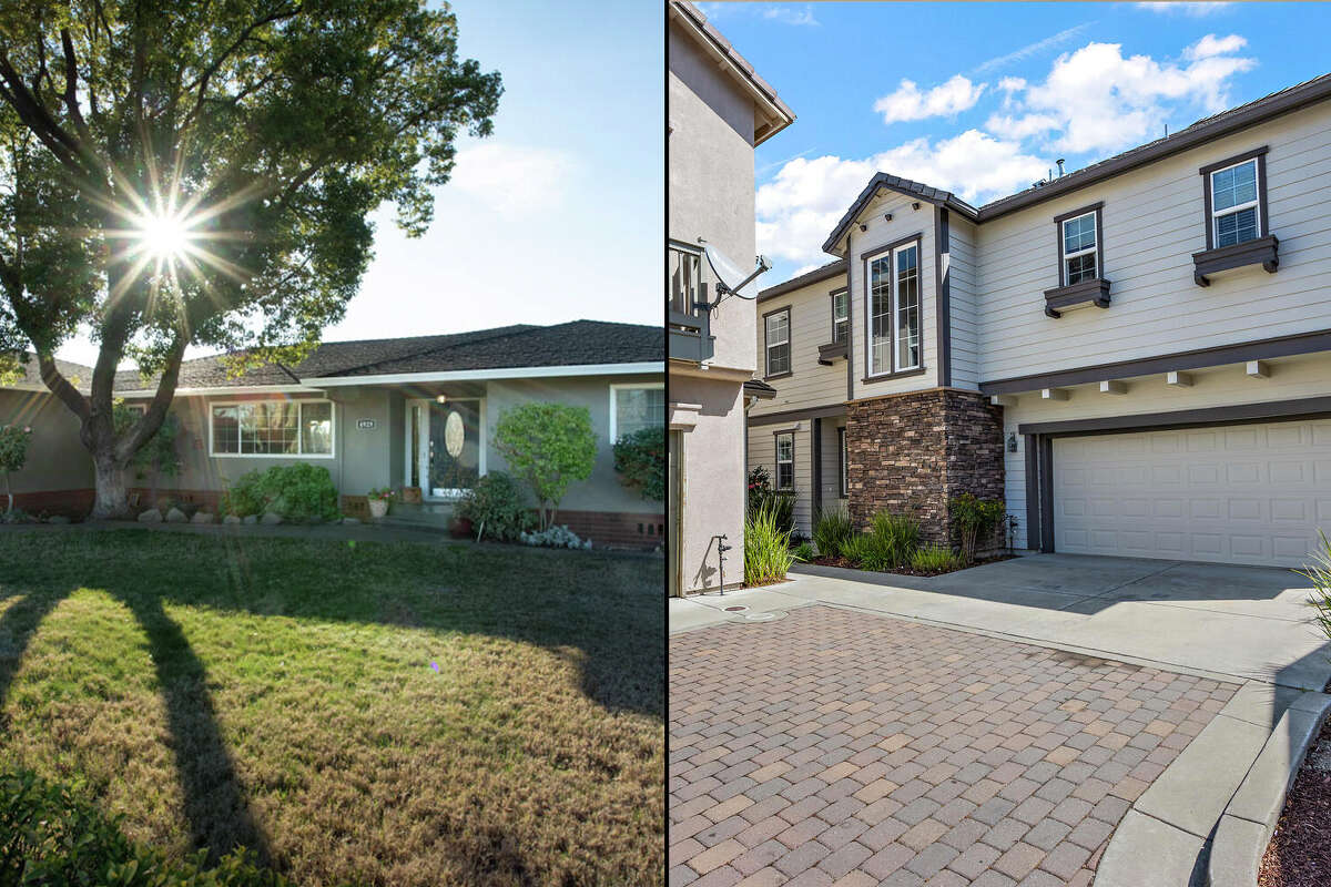 Two homes in Yuba City (left) and Vallejo show what may be attracting homebuyers to the areas.