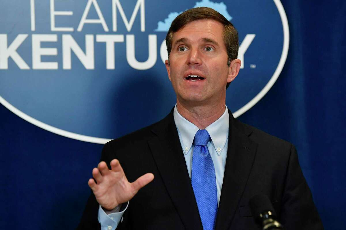 Democratic Kentucky Gov. Andy Beshear called voter access