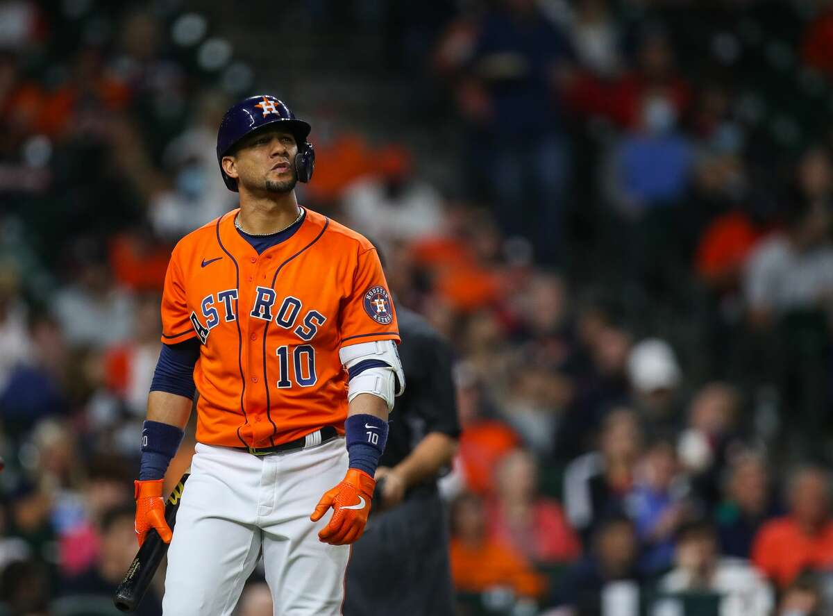 The Astros said first baseman Yuli Gurriel is day-to-day.
