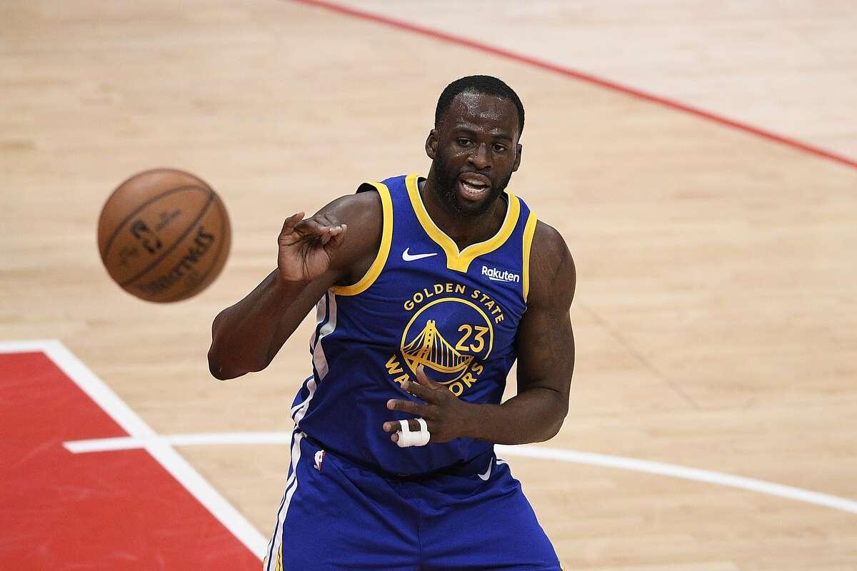 Draymond Green and the Warriors will host the Sacramento Kings at 7 p.m. Sunday. (NBCSBA)
