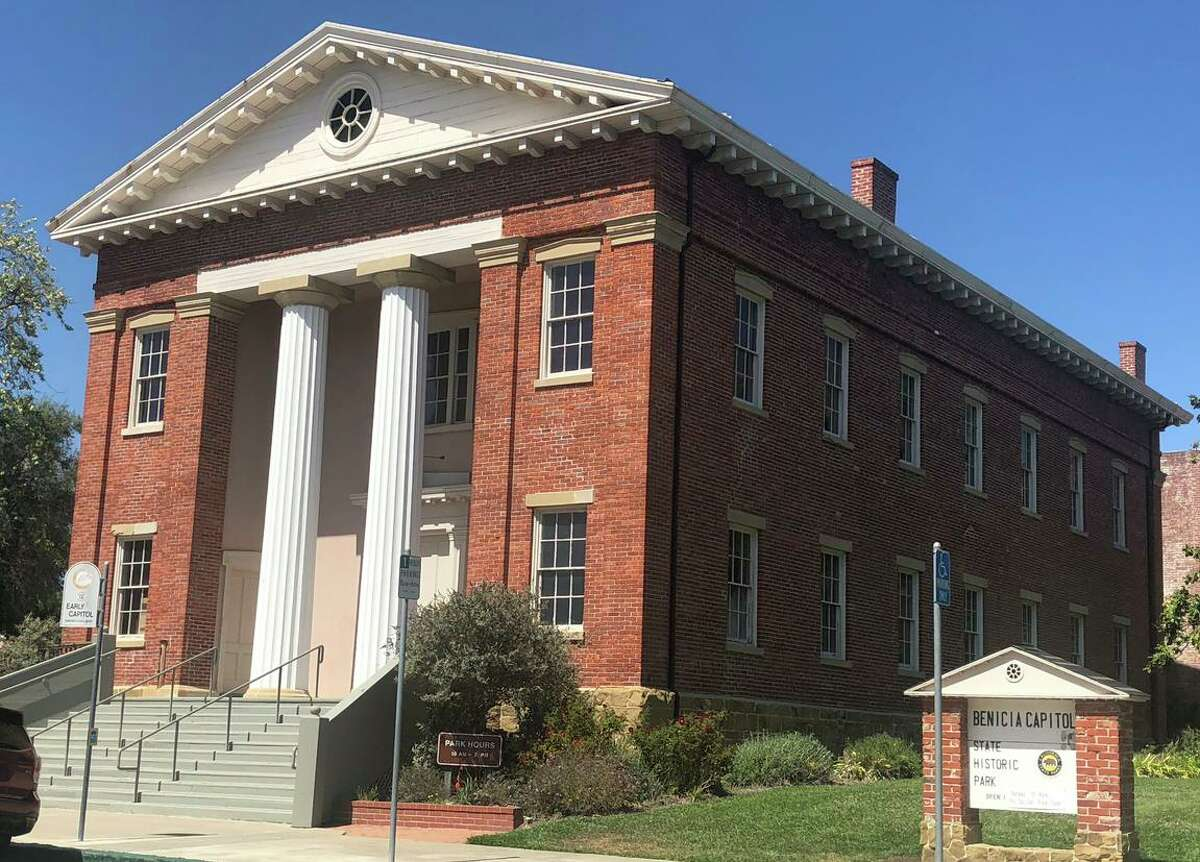 Benicia's historic Capitol building opened for business on Feb. 11, 1853, and had a one-year run as the seat of state government until Sacramento beckoned.